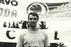 vítěz Martin Rydlo na trati IC TT 1991